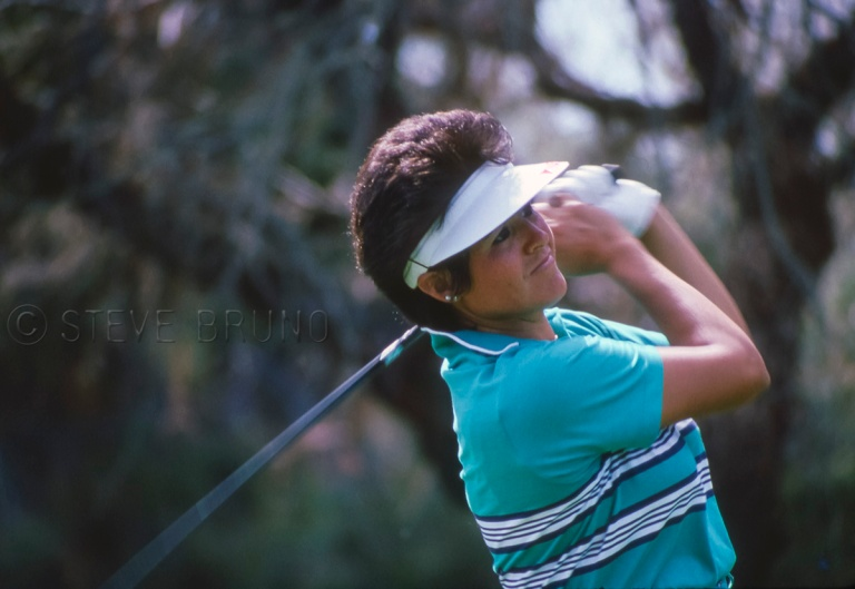 LPGA Hall-of-famer Nancy Lopez