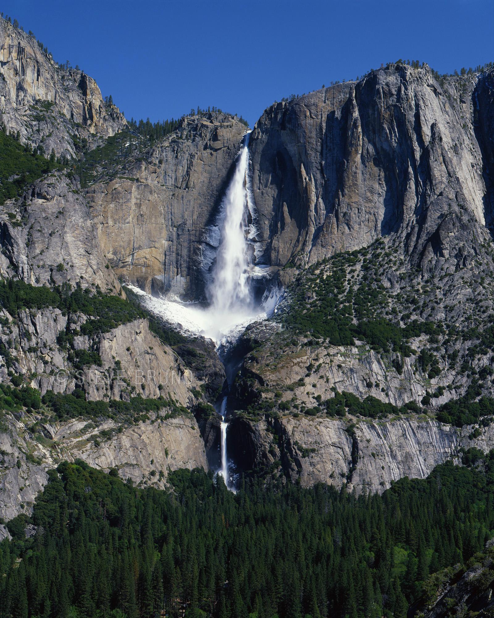 Yosemite Falls in spring, Yosemite National Park, California