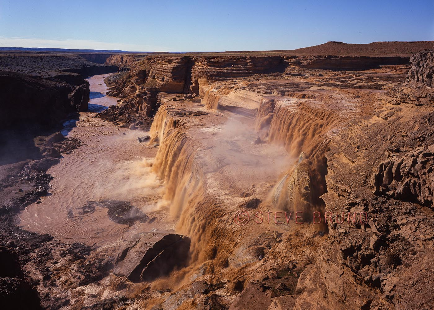 Grand Falls, Little Colorado River, Arizona