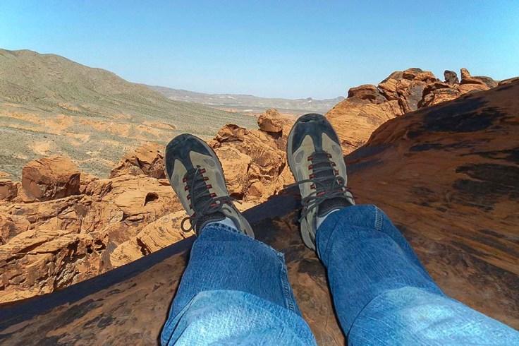 Valley Of Fire Overlook-Steve Bruno
