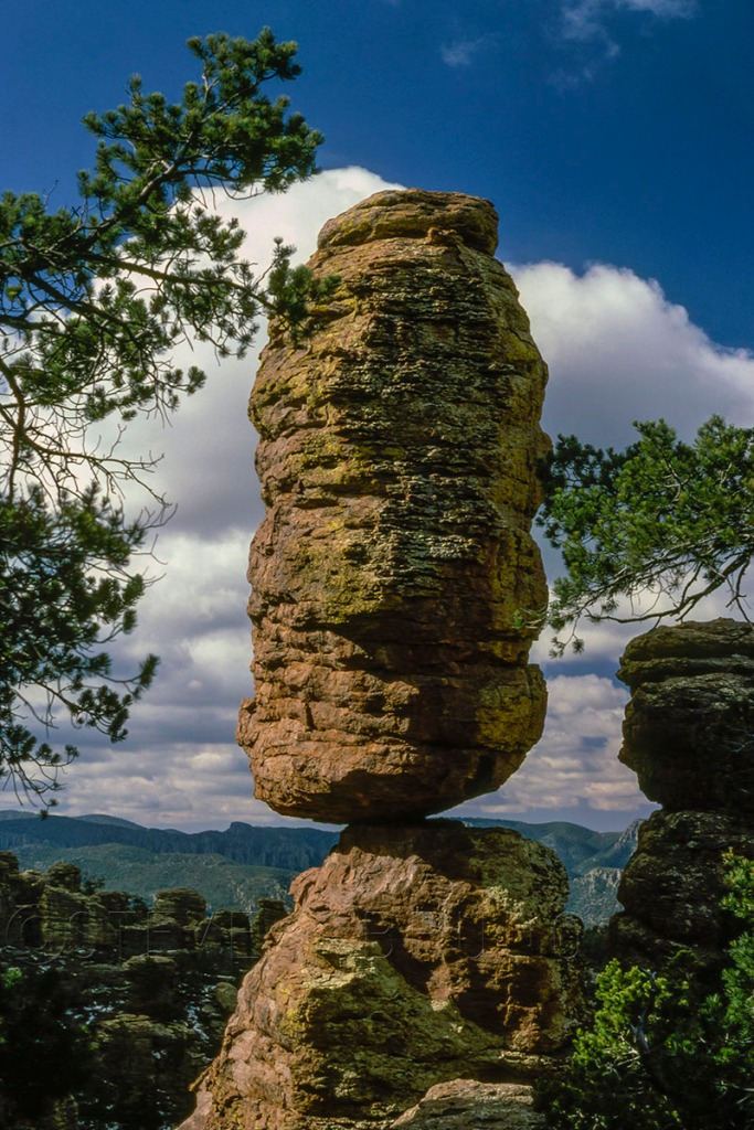 Pinnacle Balanced Rock, Chiricahua National Monument, Arizona. Photo by Steve Bruno