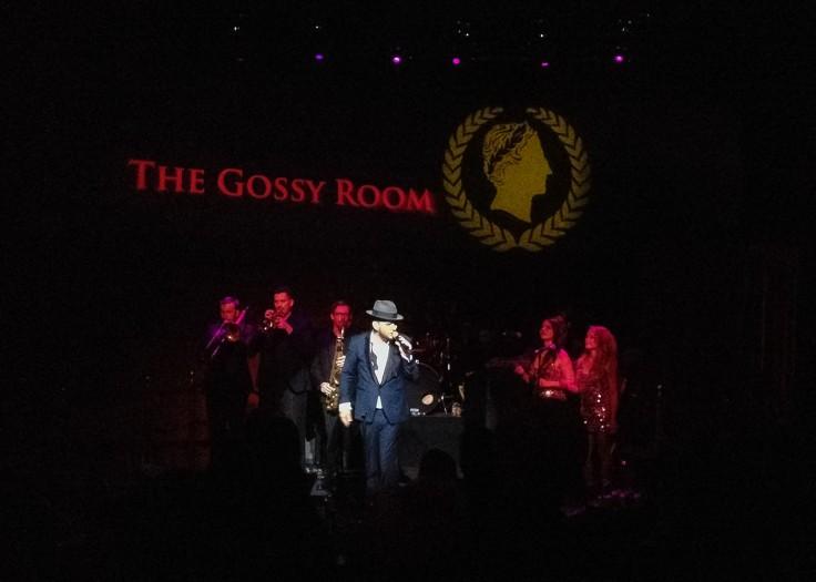 Matt Goss in one of his performances at Caesar's Palace, Las Vegas.