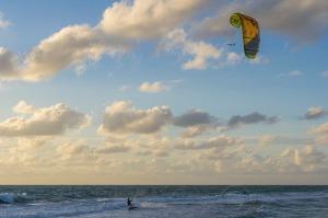 Paraboarding, Atlantic Ocean