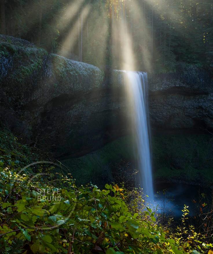 South Falls-Silver Falls SP-Steve Bruno
