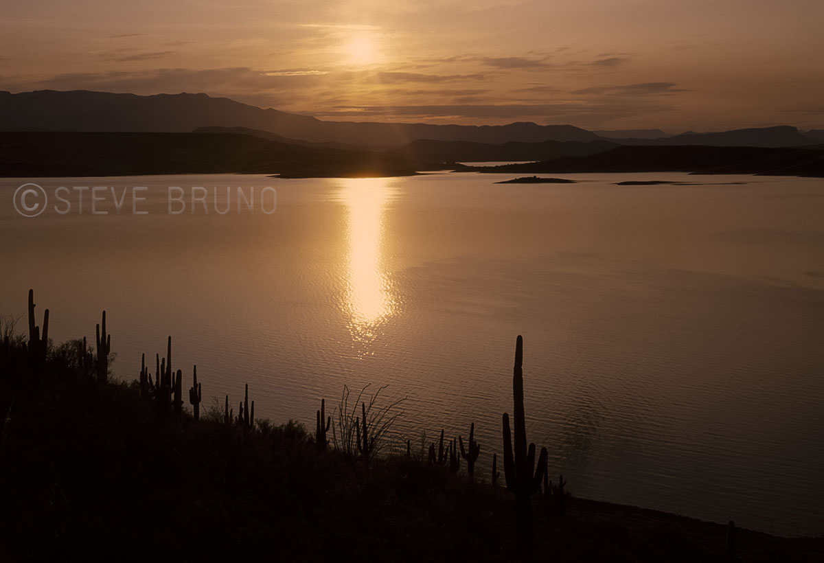 Roosevelt Lake, Arizona sunrise