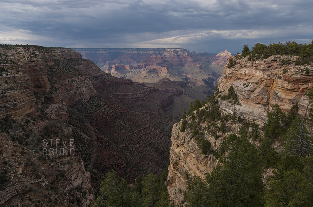 South Rim Grand Canyon, landscape photography