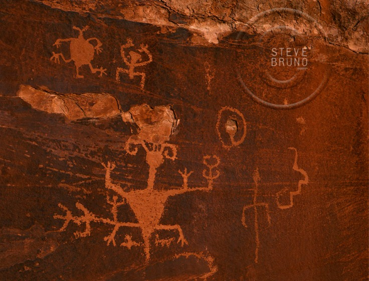 Rock Art, Grand Canyon, Arizona, Steve Bruno