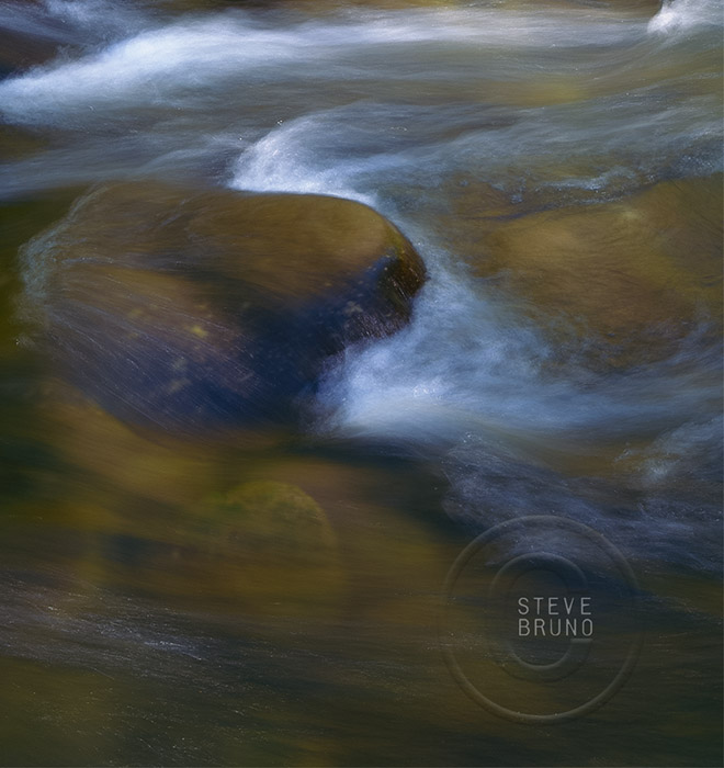 Flowing Water, Oak Creek, Sedona, Arizona, Steve Bruno