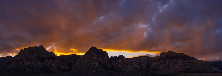 Red Rock Canyon Nevada - Sunset - Steve Bruno - gottatakemoremix
