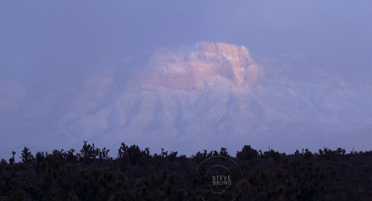 Red Rock Canyon Nevada - Winter Snow - Steve Bruno - gottatakemorepix