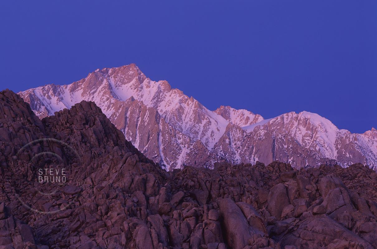Sierra Nevada Mountains sunrise