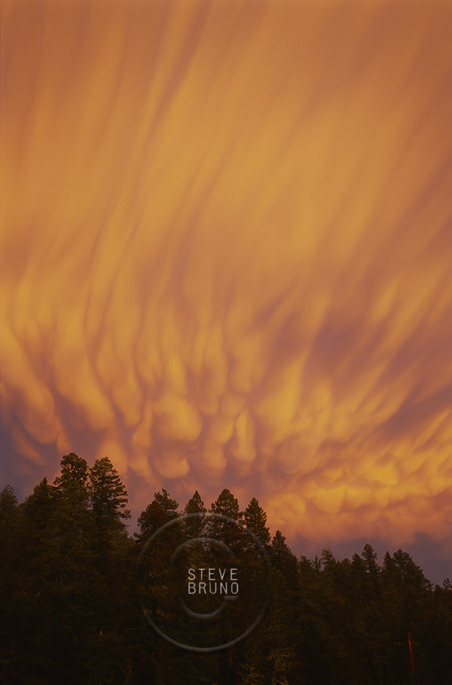 Thunderstorm Clouds, Sunset, New Mexico, Steve Bruno