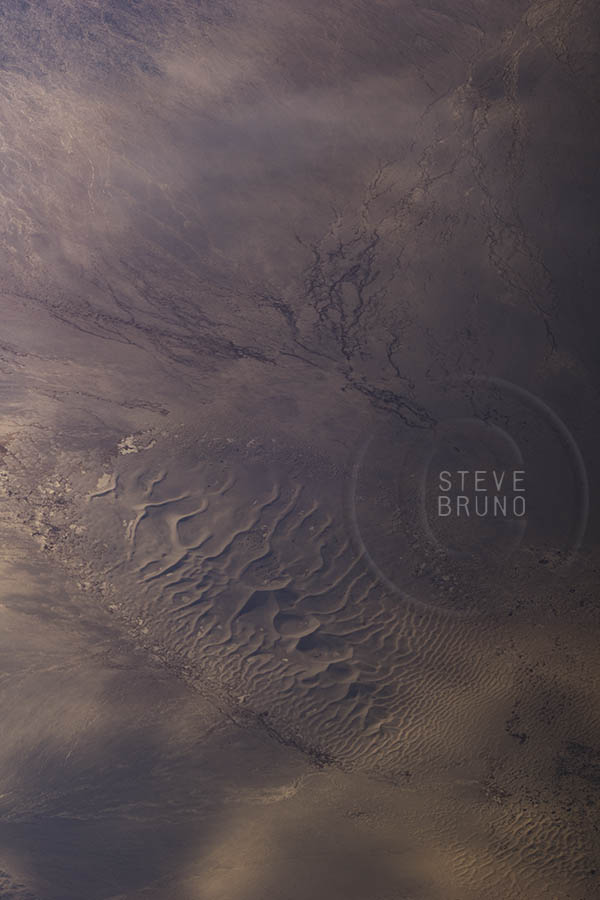 Desert Dunes near Death Valley, aerial, Steve Bruno