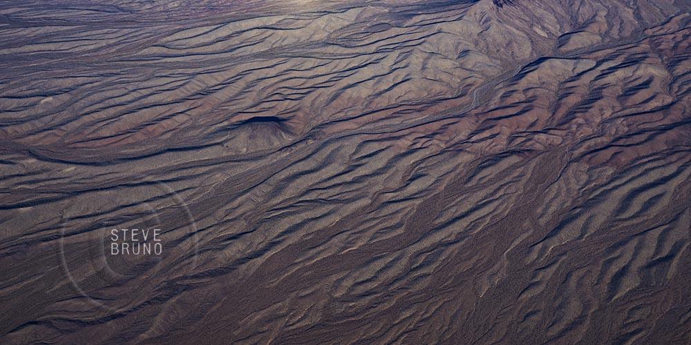 Mojave Desert, patterns, aerial, Arizona, Steve Bruno