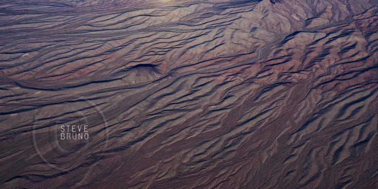 Mojave Desert, patterns, aerial, Arizona, Steve Bruno