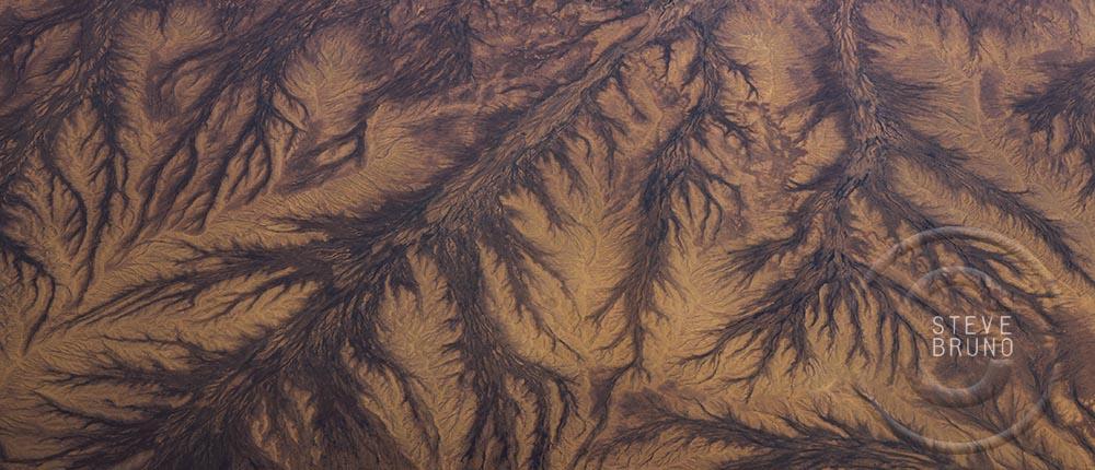 Wash patterns, northwestern New Mexico, Steve Bruno