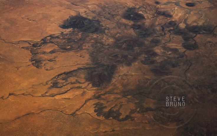 desert hills, southern Arizona, aerial, Steve Bruno