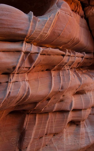 Cross-bedded sandstone - Valley Of Fire State Park Nevada