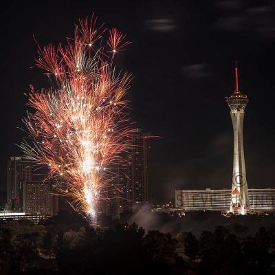Fireworks over Las Vegas by Steve Bruno