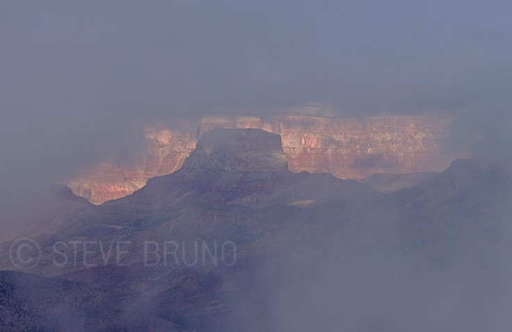 Foggy Grand Canyon