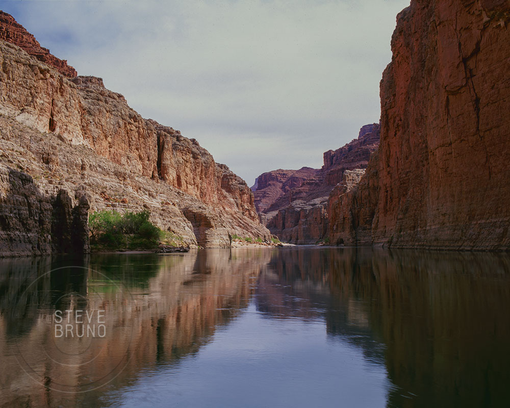Colorado River reflections in Marble Canyon, Grand Canyon National Park - Steve Bruno - gottatakemorepix