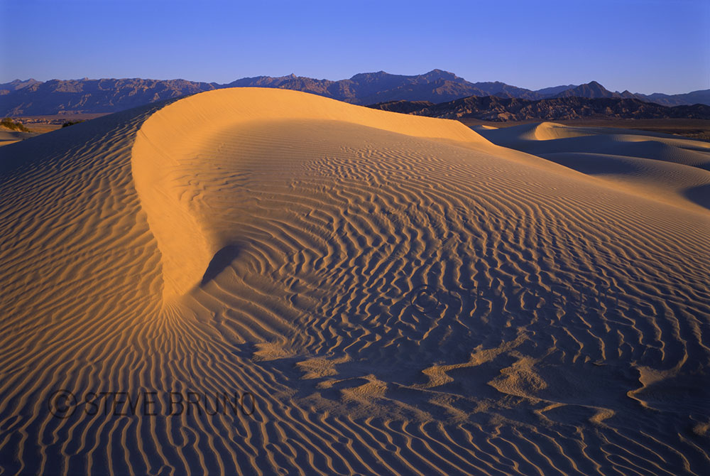 Death Valley National Park, sand dunes, sunrise, Steve Bruno - gottatakemorepix