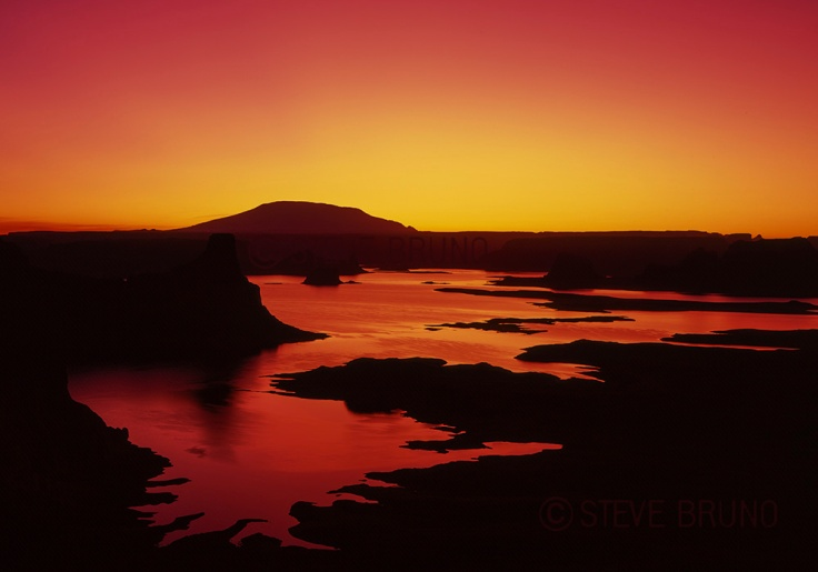 Lake Powell, Utah, shoreline, sunrise, Steve Bruno , gottatakemorepix