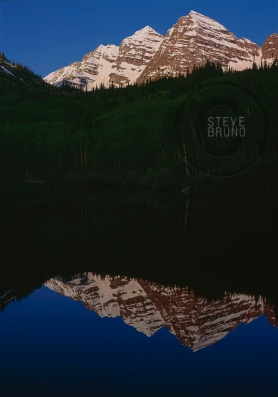 Maroon Bells, Colorado sunrise reflection - Steve Bruno - gottatakemorepix