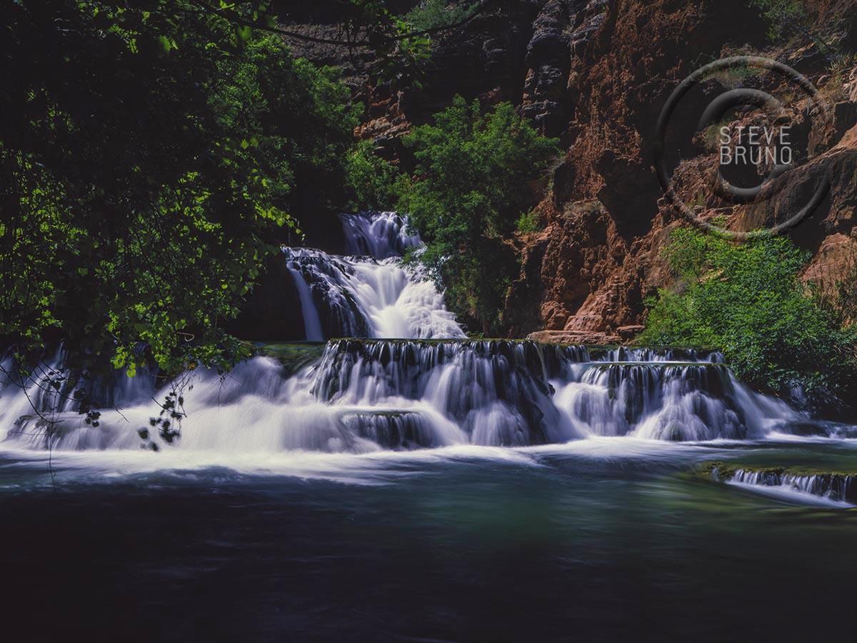 Beaver Falls, Havasu Canyon, Havasupai, Arizona, Steve Bruno