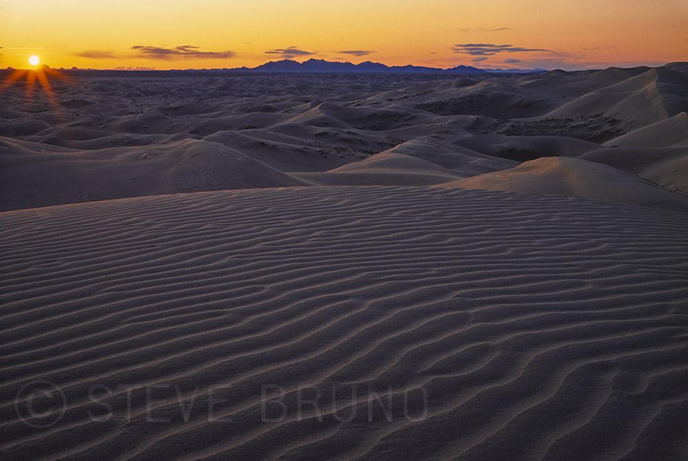 Sand dunes, California, Mojave Desert, Steve Bruno