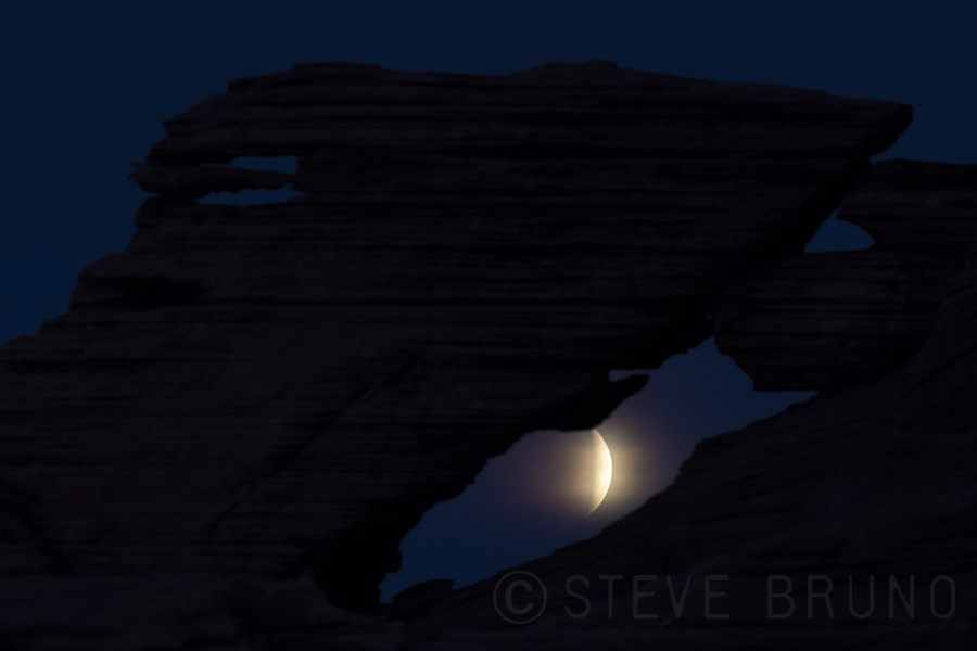 Lunar Eclipse, Arches, Valley Of Fire, Nevada, Steve Bruno, gottatakemorepix
