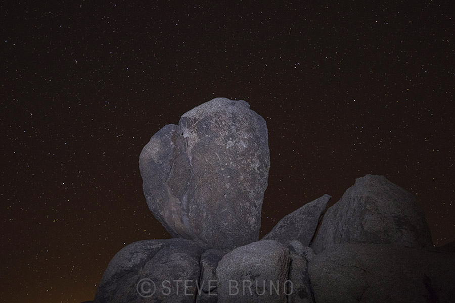 night slies, stars, boulders, arizona, steve bruno, gottatakemorepix