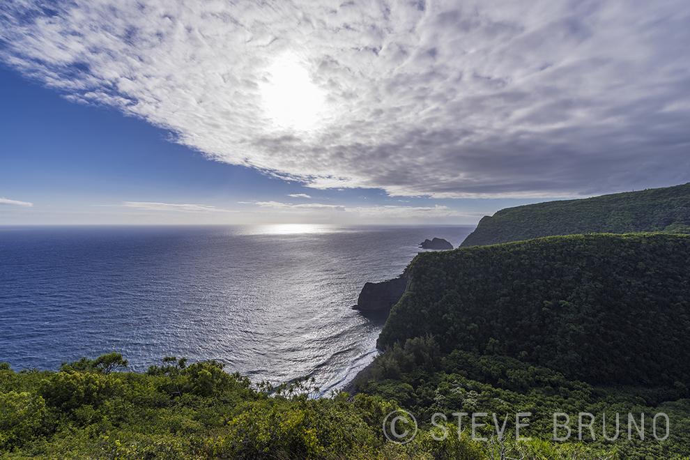 Pacific Ocean, cliffs, Hawaii