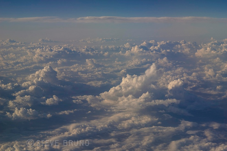 clouds, aerial photography