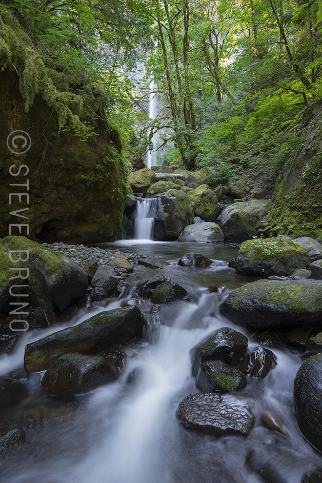 waterfalls, Oregon, Columbia River Gorge, Steve Bruno