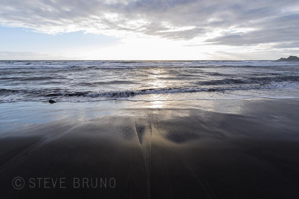 morning, beach, hawaii, solitude, calm