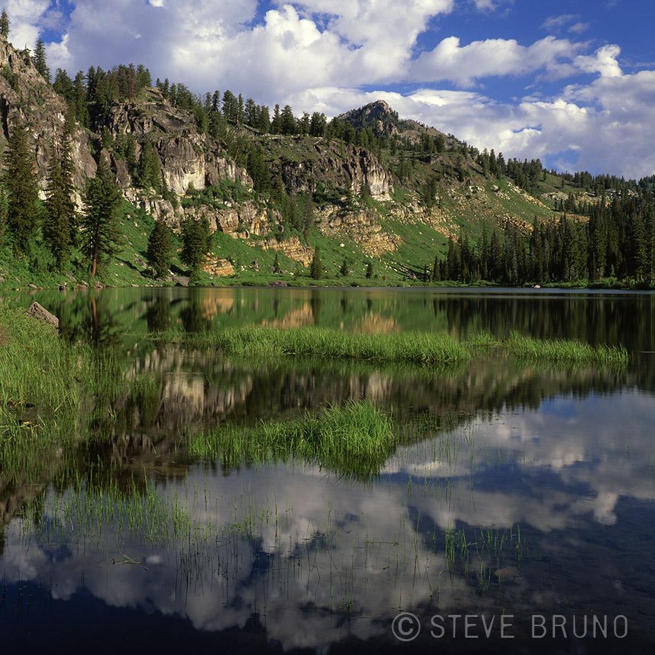 mountains, lake, reflections, wasatch mountains, utah, Steve Bruno