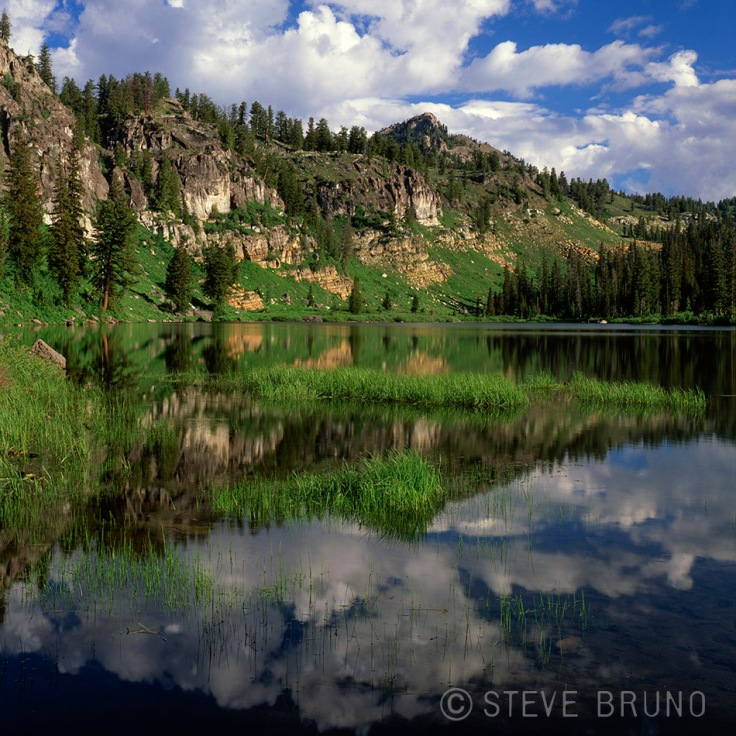 mountains, lake, reflections, wasatch mountains, utah, Steve Bruno
