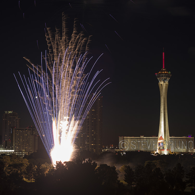 fireworks, Las Vegas, Steve Bruno