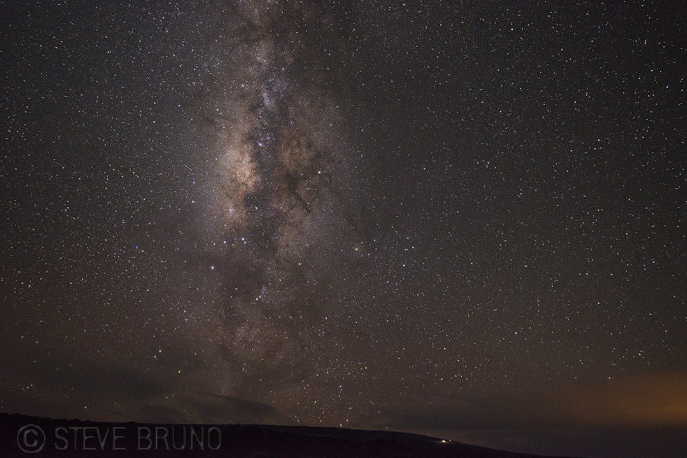 Hawaii, stars, Mauna Kea, Steve Bruno