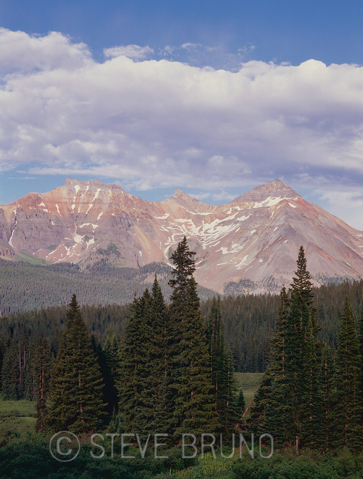 Telluride, Colorado, Rocky Mountains, forest, mountains, Steve Bruno, landscape photography