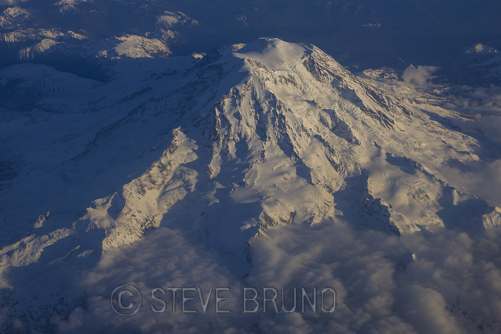 Mount Rainier, Washington, National Park, aerial photography, Steve Bruno