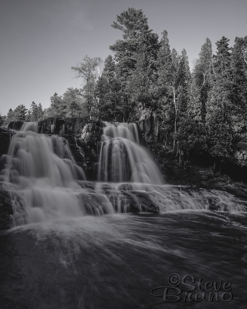 Minnesota, Great Lakes, Lake Superior, waterfall, Steve Bruno