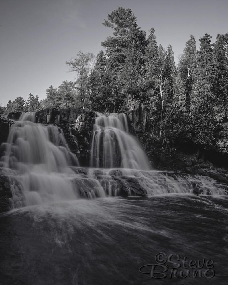 Minnesota, Great Lakes, Lake Superior, waterfall, Steve Bruno