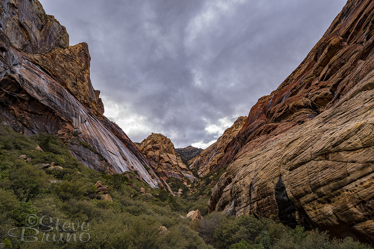 red rock canyon, nevada, las vegas, rain, hiking, fine art