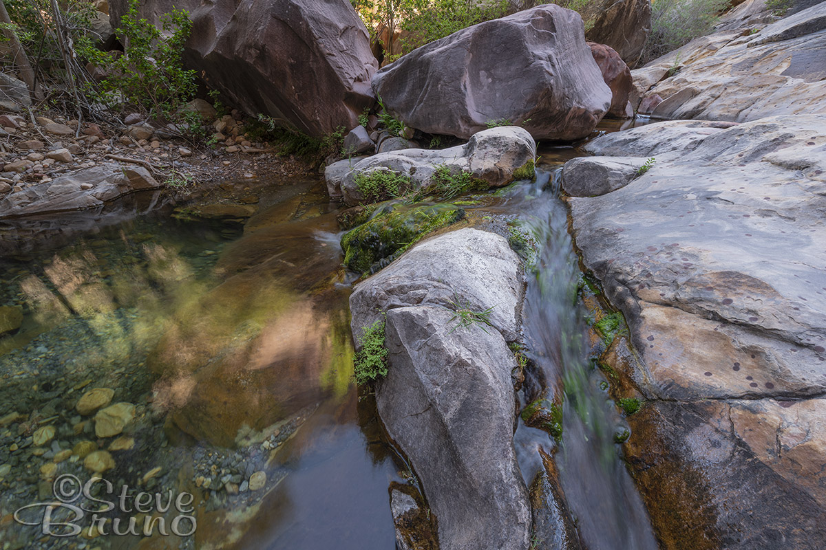 creek, Red Rock Canyon, Nevada