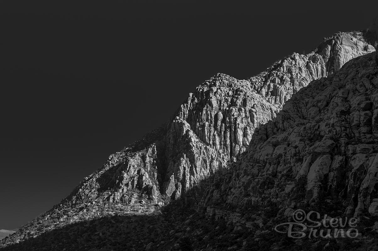mountain light, Nevada, Steve Bruno