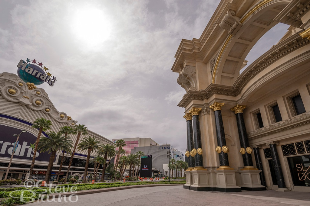 Caesar's Palace, Forum Shops, Las Vegas Blvd, lockdown