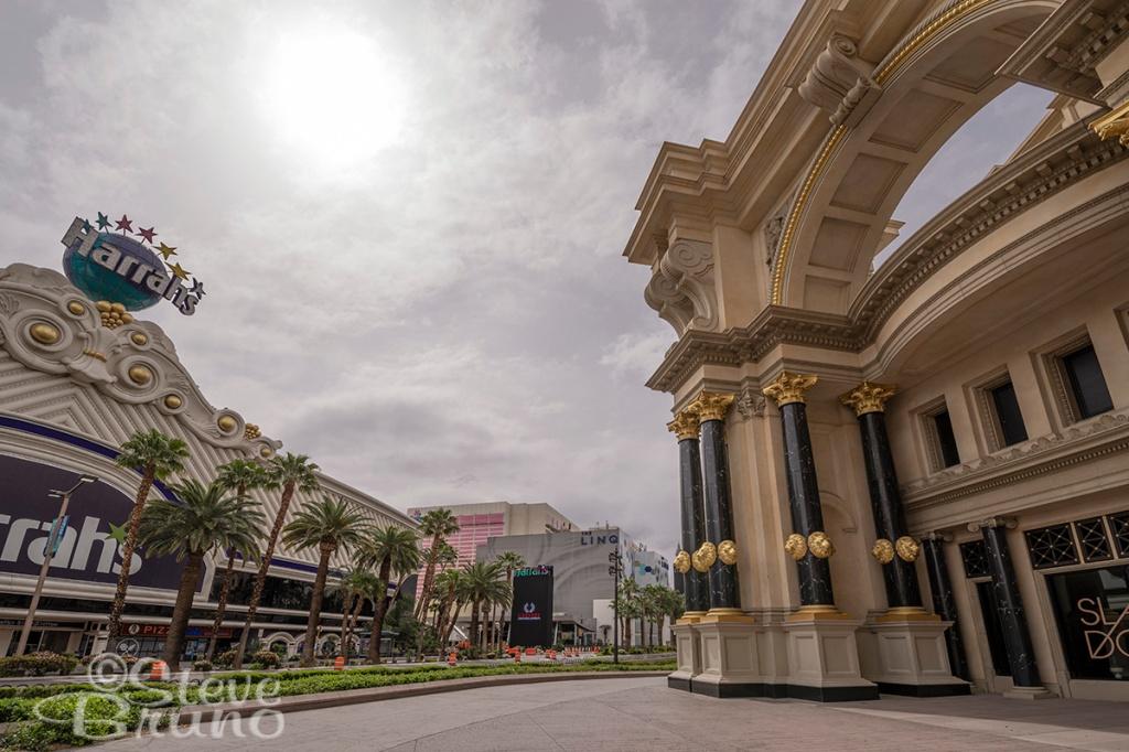 Caesar's Palace, Forum Shops, Las Vegas Blvd, lockdown