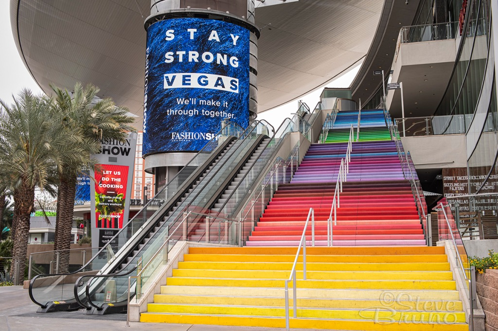 Las Vegas, quarantine, Fashion Show Mall, Nevada